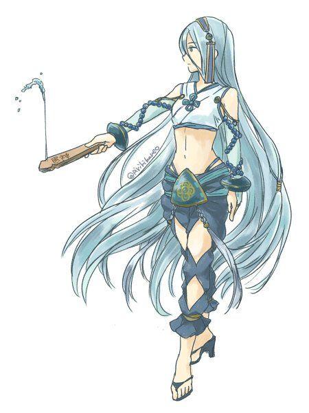 Fire Emblem Fates - Diviner Azura