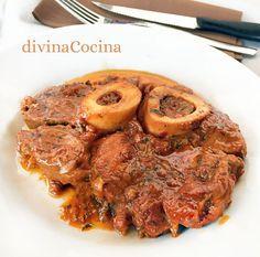 Esta receta de Ossobuco a la milanesa es típica de la cocina italiana, pero hoy es la forma más tradicional de preparar el ossobuco en todas partes.
