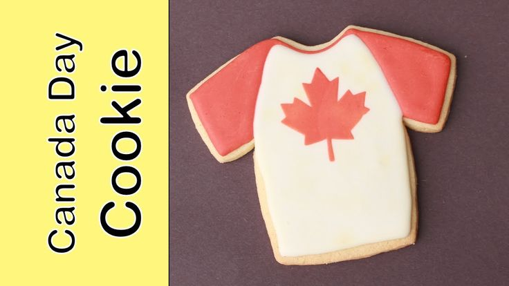 Canada Day Flag Cookies - How to make Canada day cookies
