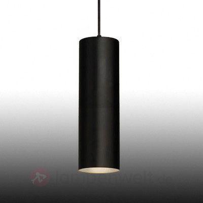 Schwarze Pendelleuchte Enola in schmaler Form 5504514 lampenwelt