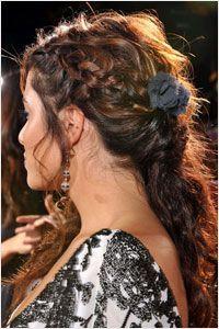 Nikki Reed Romantic Hairstyle | Twilight New Moon Celebrity Hairstyle