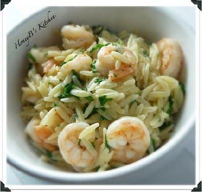 Lemon Pepper Shrimp Scampi #pasta #shrimp #cookinglight