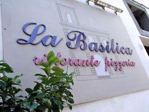 La Basilica restaurant - Sorrento