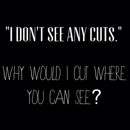 Sad Quotes About Cutting: 25+ Best Sad Emo Quotes On Pinterest