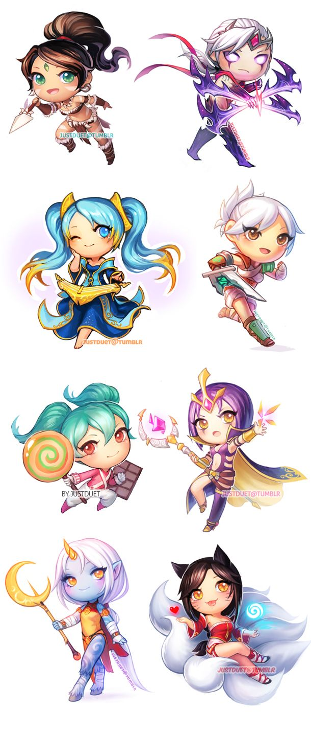 League of Legends Chibis | JustDuet