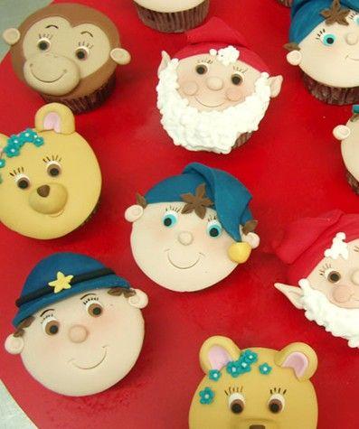 Noddy cupcakes