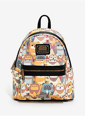 NUB NUB | Loungefly Star Wars Ewok Mini Backpack