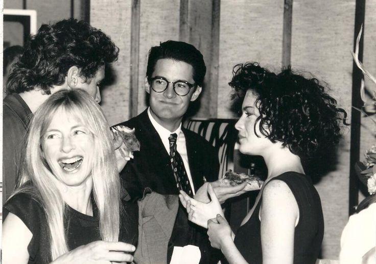 1989 Opening Gala - Twin Peaks pilot with Kyle MacLachlan & Lara Flynn Boyle #TwinPeaks