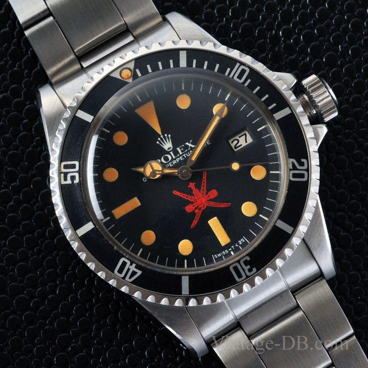 Rolex Sea-Dweller Ref. 1665 Red Oman Dial