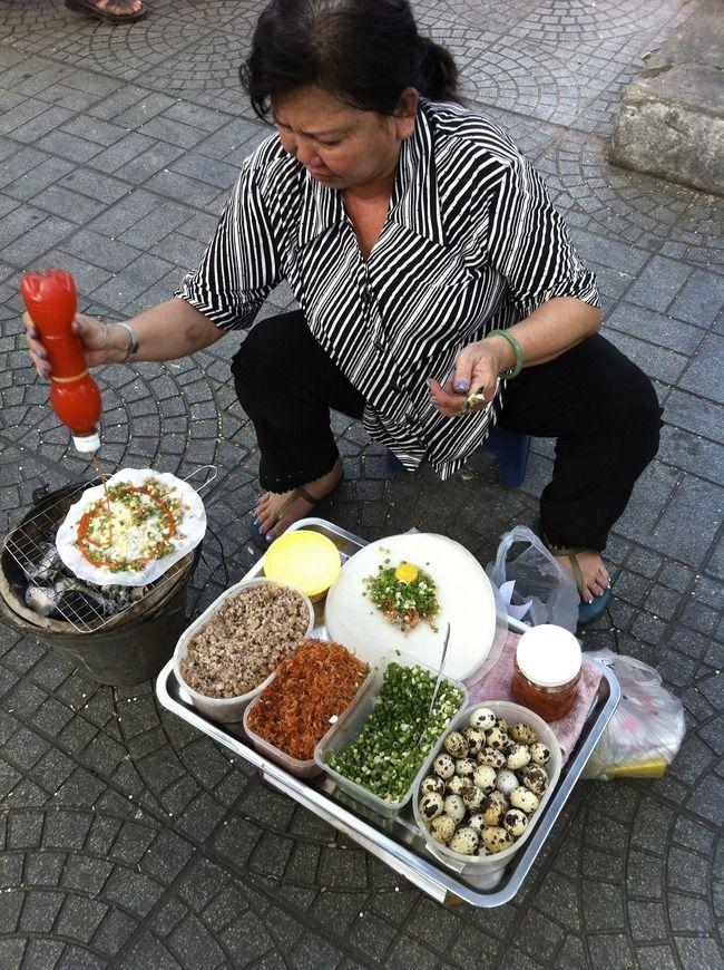 Ho Chi Minh City, Vietnam  Street food