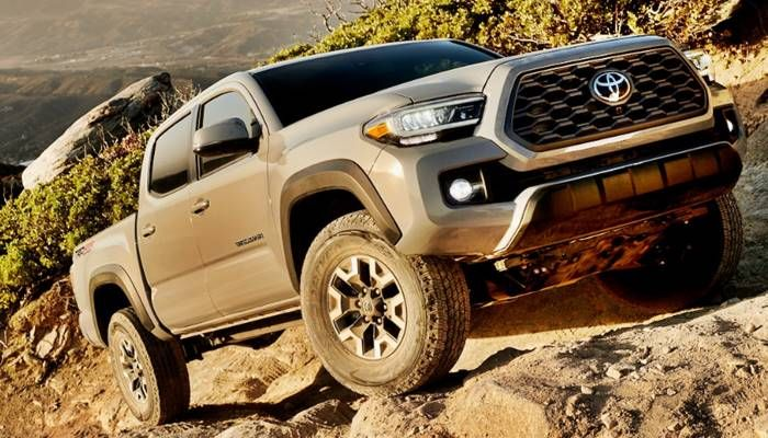 2020 Toyota Tacoma Redesign And Price Range Toyota Tacoma Toyota Tacoma Trd Tacoma Trd