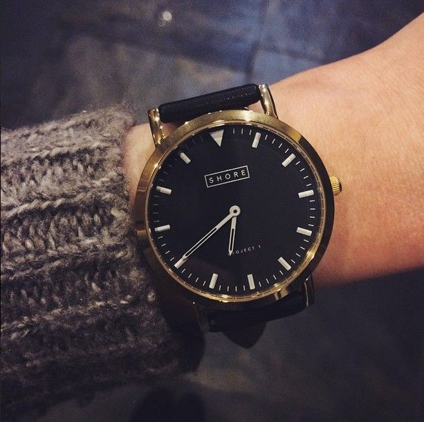 Shore Projects watch- sleek and timeless.