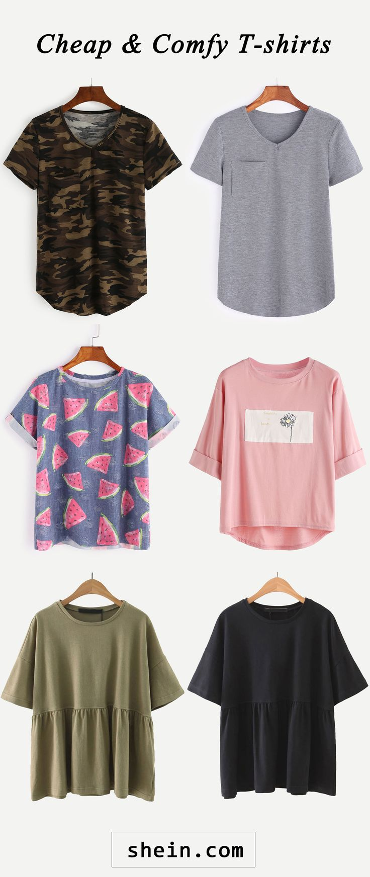 Cheap and comfy T-shirts