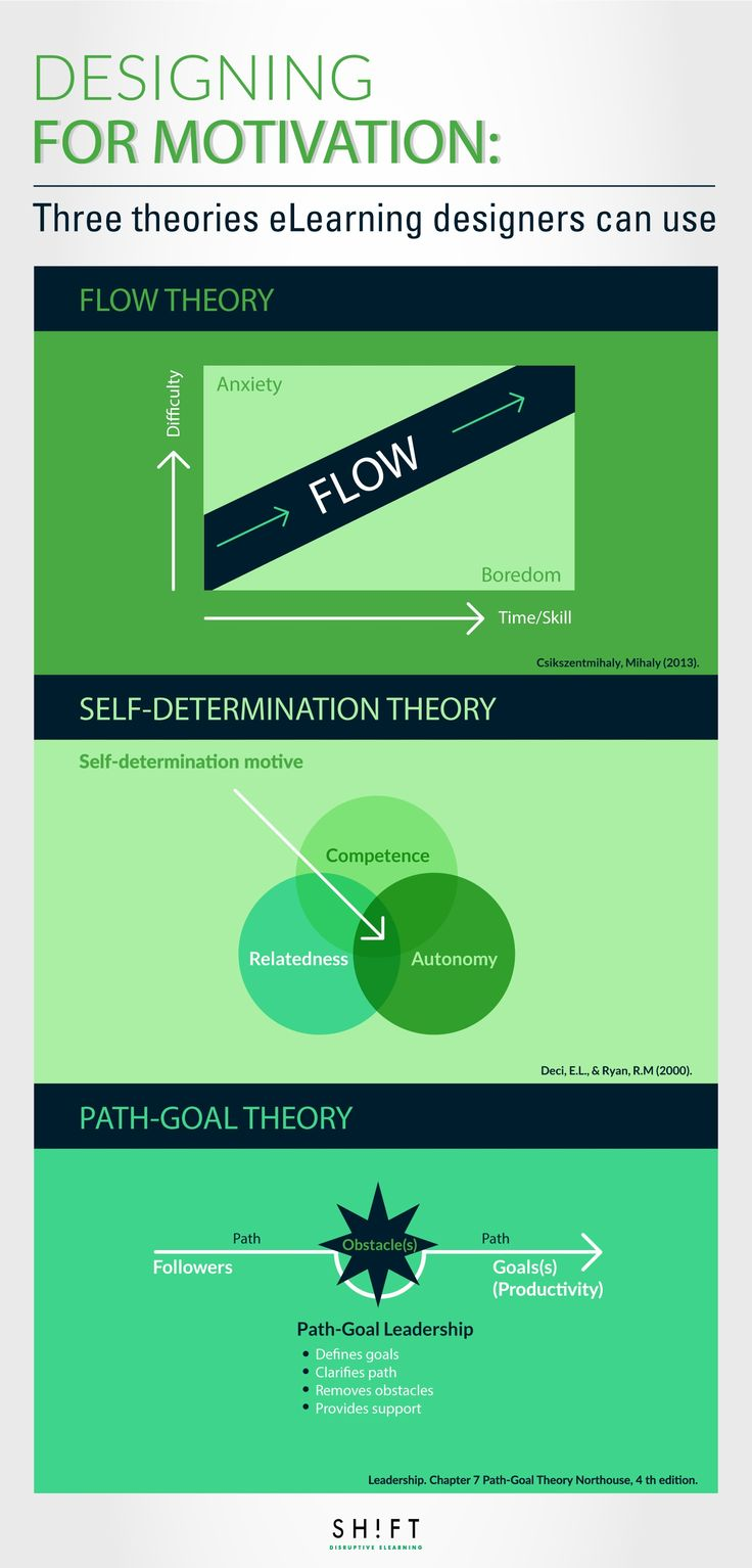 Designing for Motivation Three Theories eLearning Designers
