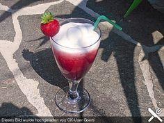 Erdbeer-Cappuccino