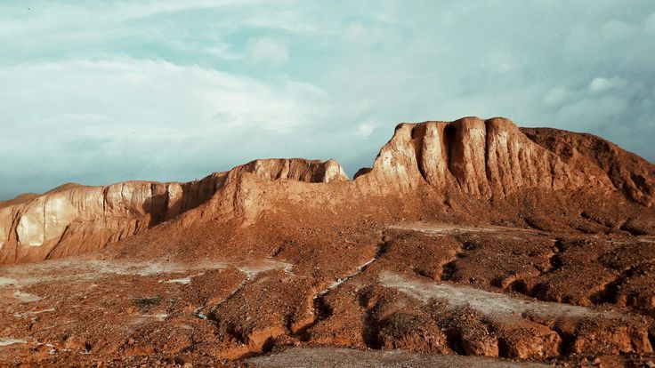 Red Hill, After the Tin Mining - Bangka Island  #landscape #tin #mining #photography #nature #not #red #canyon