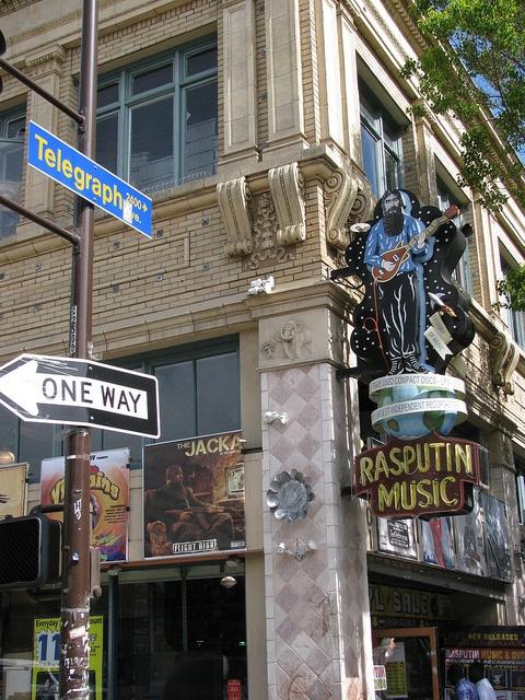 Telegraph Avenue in Berkeley - one of May's favorite haunts