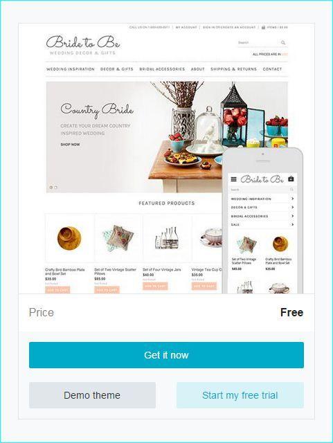 ecommerce website templates free