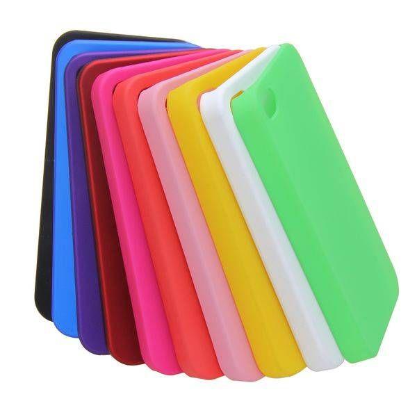 Verschillende kleuren mat hardcase hoesje voor iPhone 4 / 4s