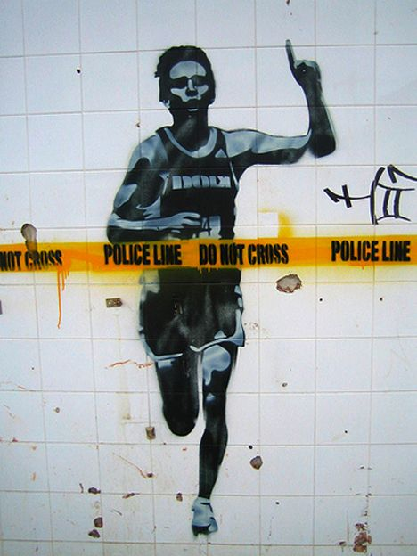 Stencils. – Banksy & Stencil Art