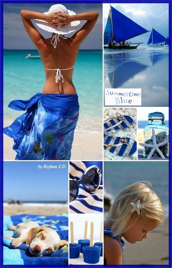 '' Summer in Blues '' by Reyhan S.D.