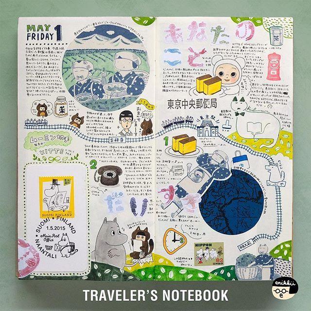 By enikkii. #Diary, #Hobonichi, #日記, #手帳