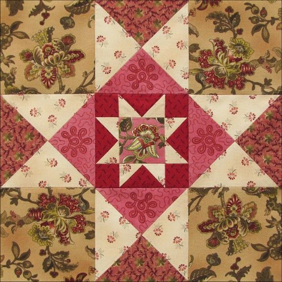 Civil War Quilts: Threads of Memory 2: Mercer County Star for Susan Lowe Wattles
