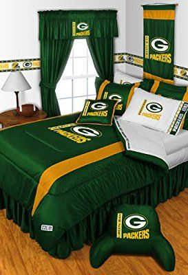 NFL Green Bay Packers 5 Pc Bed in a Bag Queen Bedding Set