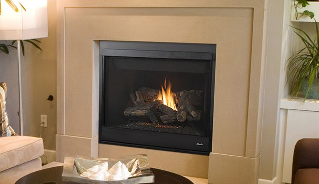 Superior Drt4036 Traditional 36 Direct Vent Fireplace With Fiber