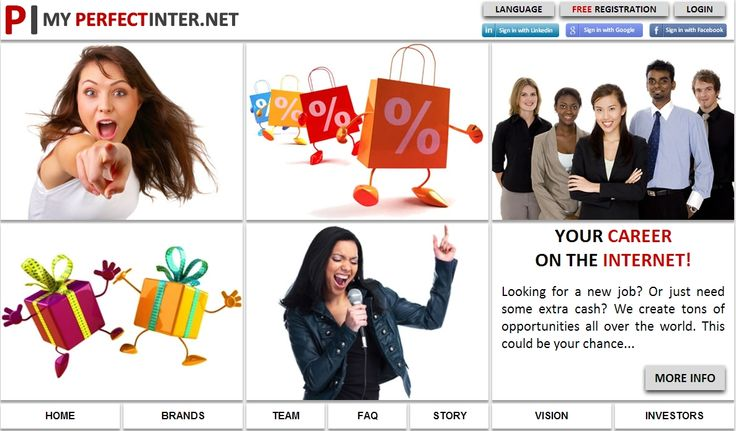 FREE PRIZE DRAWS at the PERFECT INTERNET