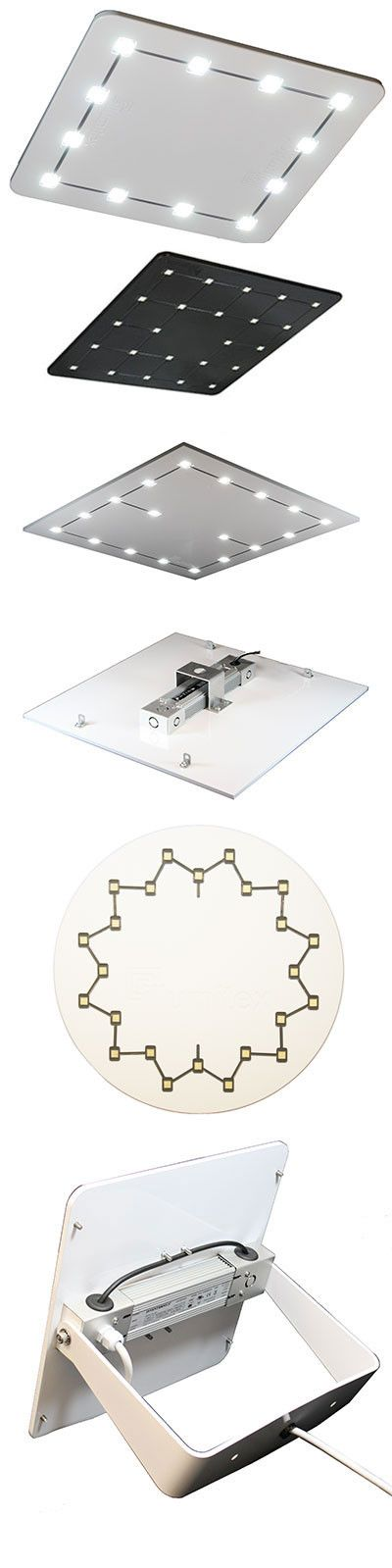 The Stratus Square High Bay LED light is a unique heavy-plate high bay LED light with integrated circuitry and recessed LEDs