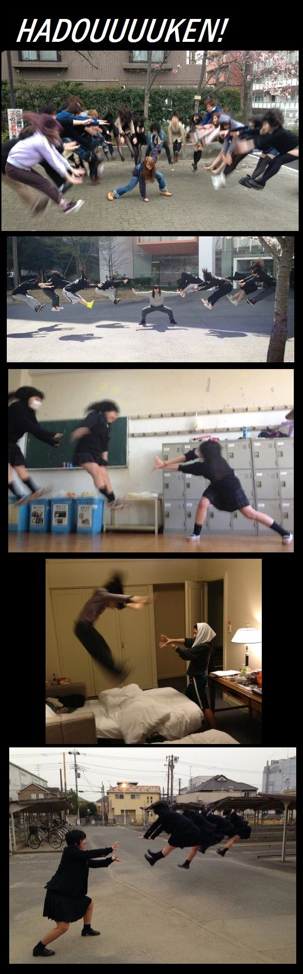 The latest craze sweeping Japan. I want to do this!
