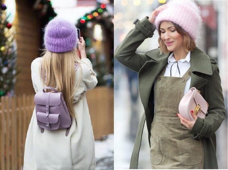 Модные объемные шапки этого сезона