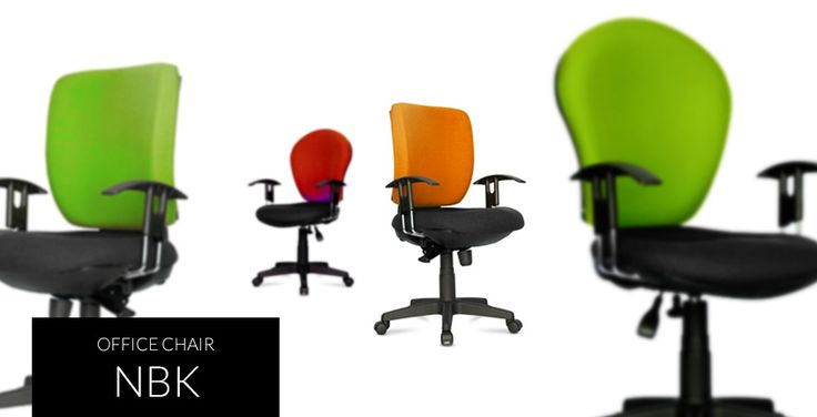 Nbk | HighPoint Office Low back visitor chair with chromed metal frame. Slim, elegant and sturdy.
