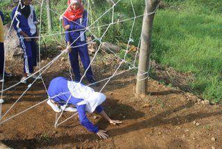 Fun Games, Spider Web. Seru di Citra ALam. info@citraalam.com
