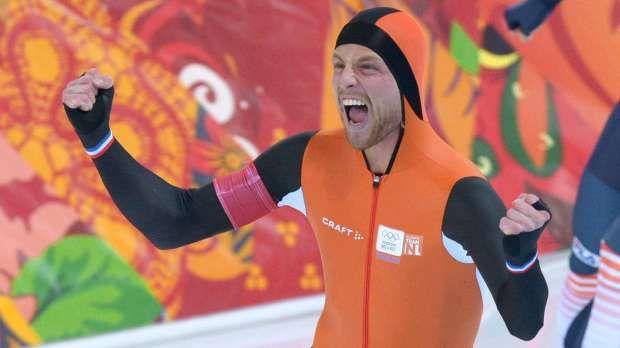 Fox: Michel Mulder wins gold as Dutch sweep in 500m speed skating