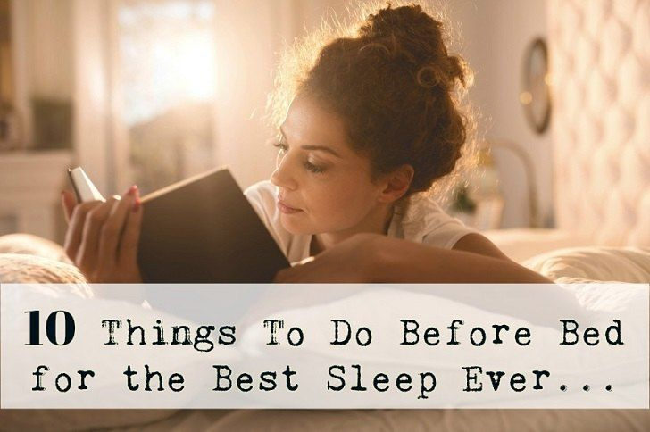10 things to do before bed for the best sleep ever health beauty remedies books everyone. Black Bedroom Furniture Sets. Home Design Ideas