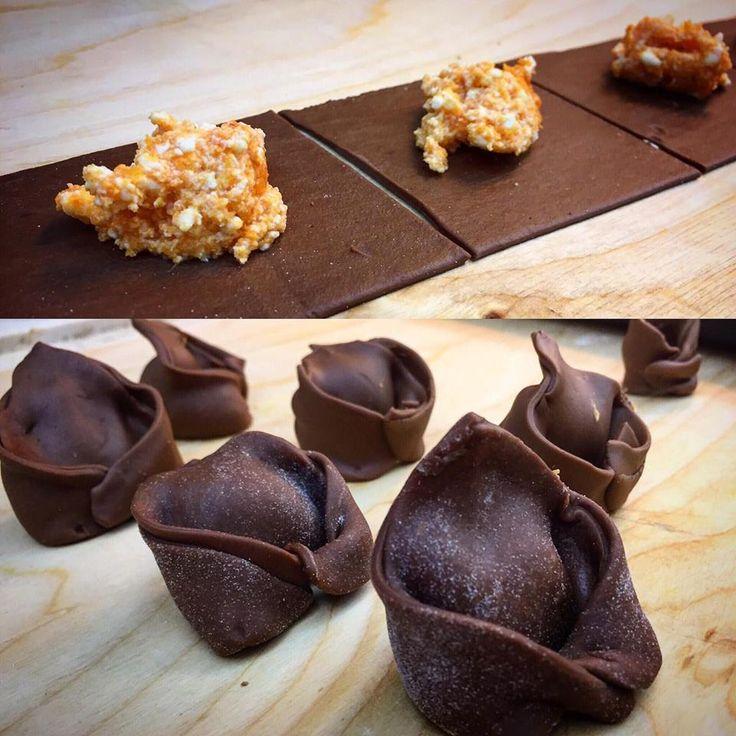 Speciale Natale: Cappellacci al Cacao con Zucca e Ricotta