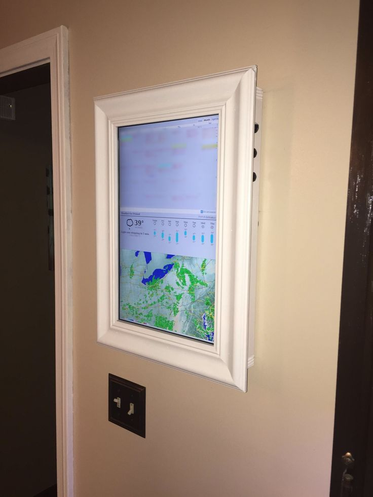 Raspberry Pi Framed Informational Display - Google Calendar, Weather, and More..