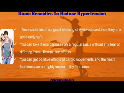 This video describes about how to reduce hypertension with home remedies. You can find more detail about Stresx capsules at http://www.ayushremedies.com
