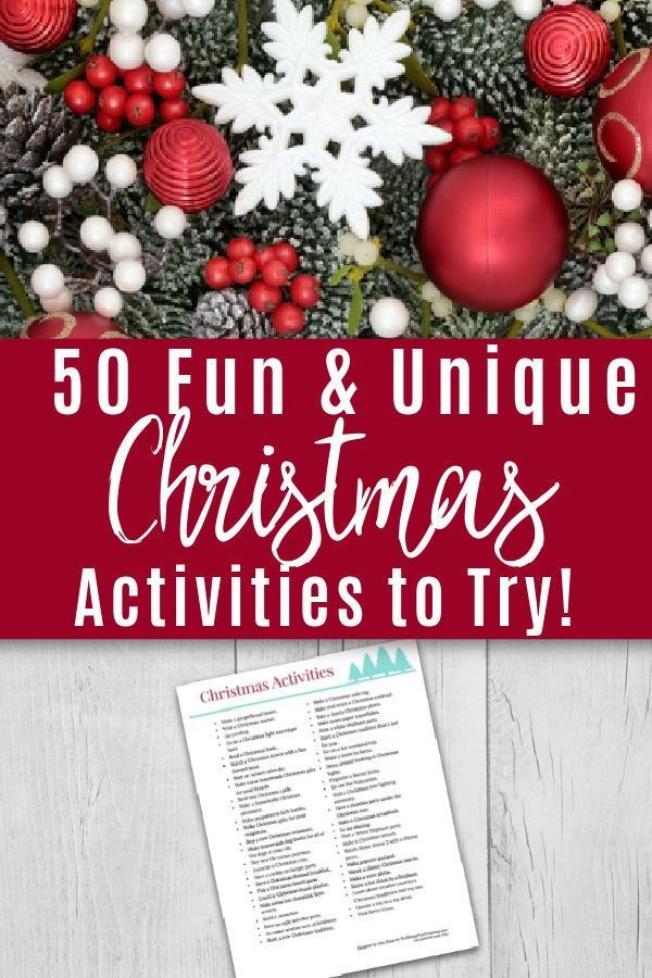 Christmas Activities To Add To Your Bucket List In 2020 Fun Christmas Activities Christmas Activities Free Christmas Printables