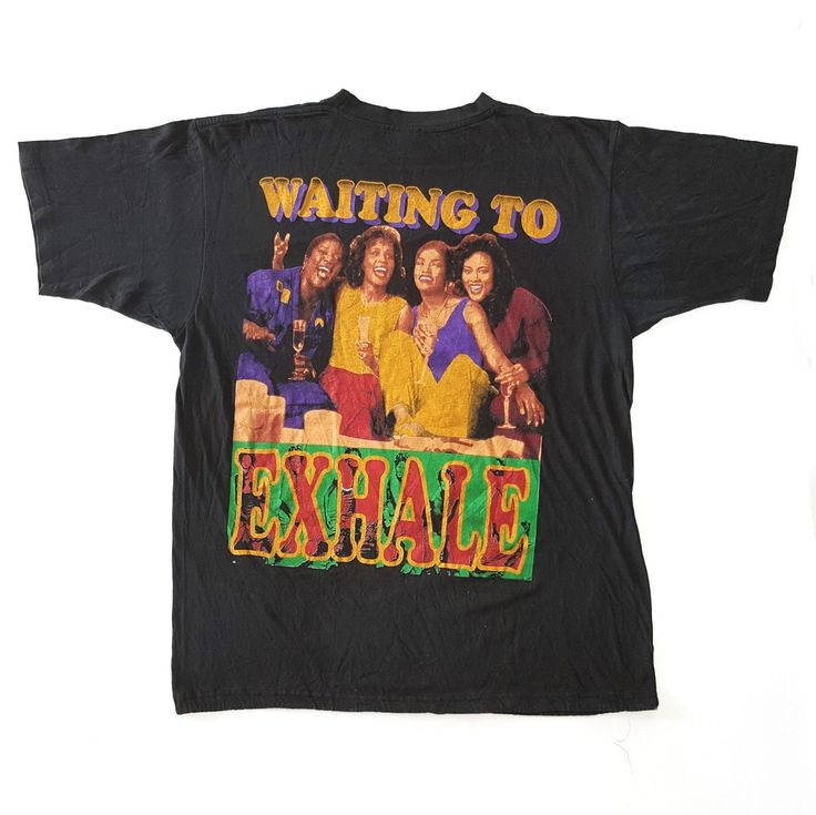 Vintage 90s Waiting To Exhale Whitney Houston Movie T-Shirt for sale!    http://www.ebay.com/itm/Vtg-90s-Waiting-To-Exhale-Whitney-Houston-Movie-T-Shirt-Hip-Hop-Rap-Bootleg-XL-/152612036863    #vintage #90s #WaitingToExhale #WhitneyHouston #Movie #Film #tee #Shirt #hiphop #rap #RapTees #Rare #Bootleg #XL #Black