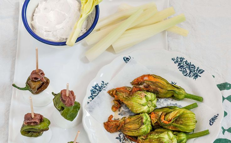 APPETISER TRIO!  Here is the recipe for interesting appetisers with our fantastic anchovies. Take a look!