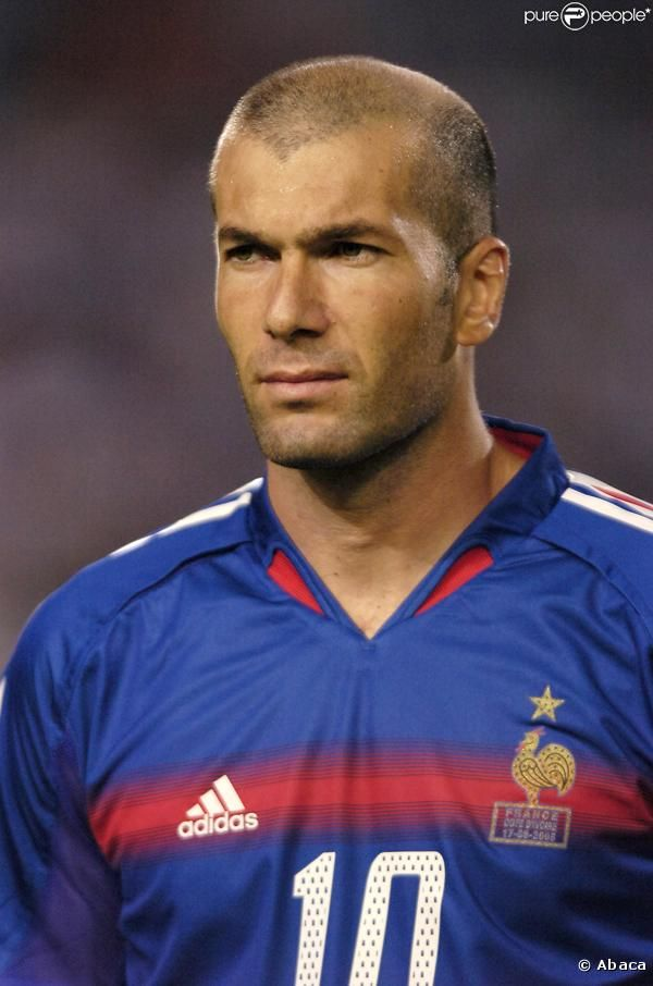 Zinedine Zidane.  Best footballer in French history...or the history of the whole world.