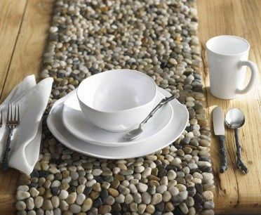 Easy DIY Stone Trivet, Table Runner, And Placemat, Coaster: What A Simple  And Fun Project! These Trivets Are A Natural Heat Insulator And Will  Protect Your ...