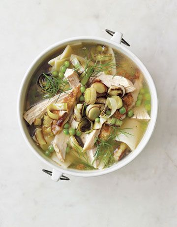 12 Chicken Soup Recipes: From Country Living 1. Chicken Noodle Soup