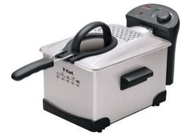 T-fal FR1014 Easy Pro Enamel Deep Fryer: affordable deep discounted price, hassle free deep frying experience.