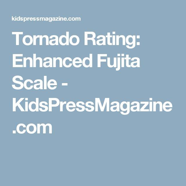 Tornado Rating: Enhanced Fujita Scale - KidsPressMagazine.com