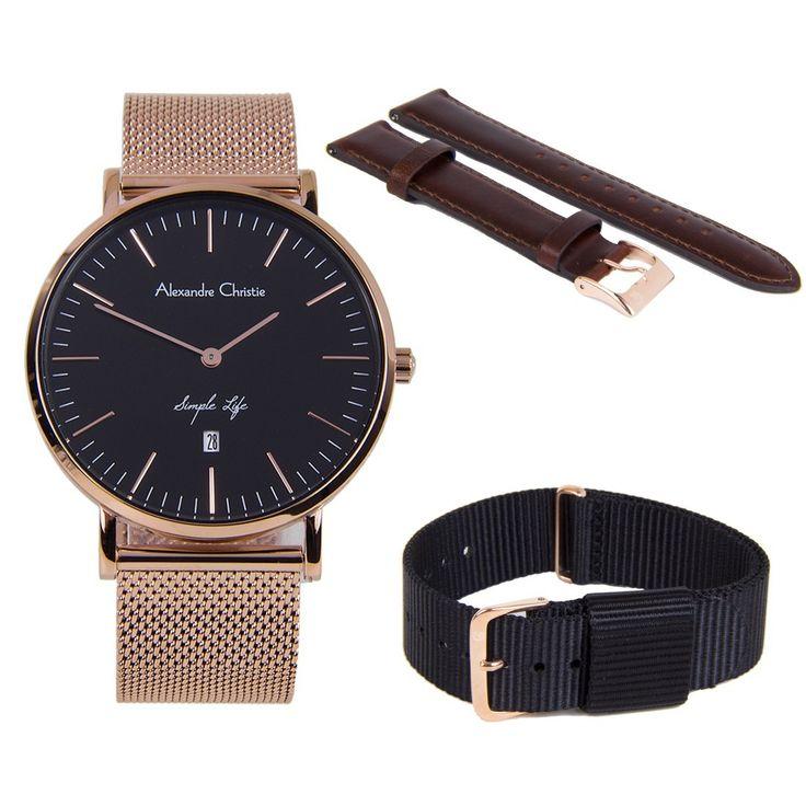 A-Watches.com - Alexandre Christie Simple Life Male Watch 8566MDBRGBA, $159.00 (https://www.a-watches.com/alexandre-christie-simple-life-male-watch-8566mdbrgba/)