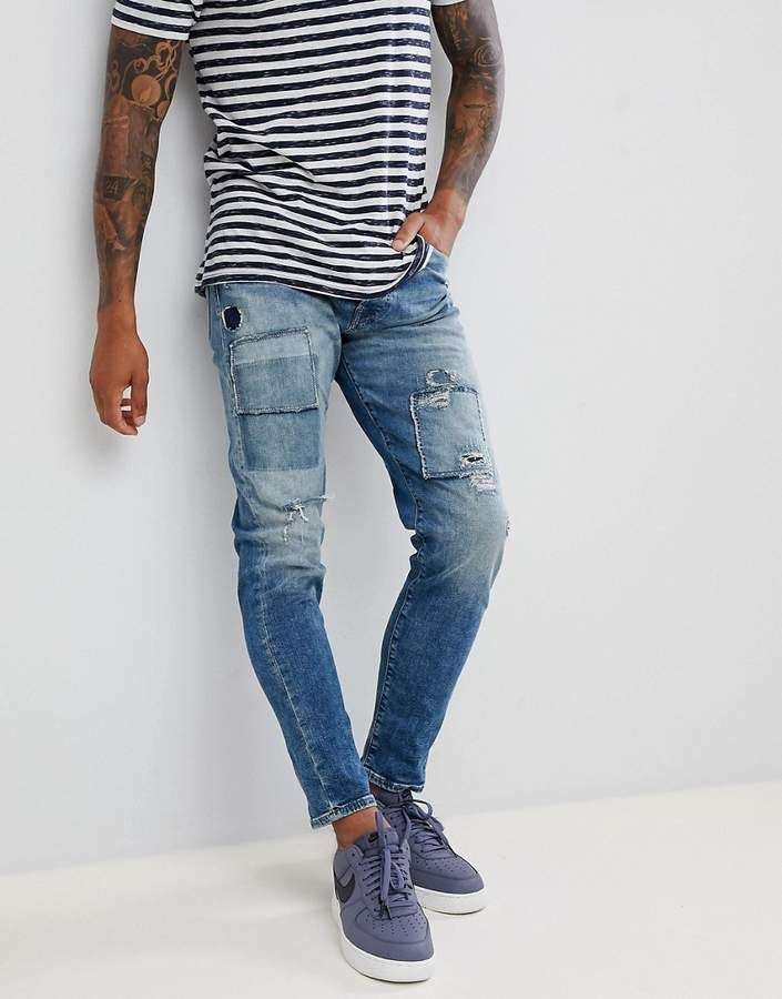 f07f8cd5035 Jack & Jones Jeans In Tapered Fit With Patch Details   Men's fashion ...